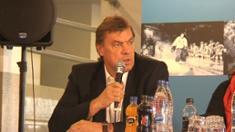 Video: Anssi Rauramo Talviklassikon pressitilaisuudessa