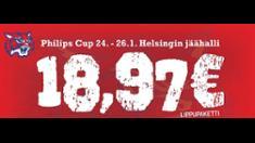 Video: Kollien isännöimä Philips Cup tänä viikonloppuna