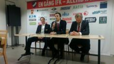 Video: Lehdistötilaisuus IFK-Kärpät 28.1.2012