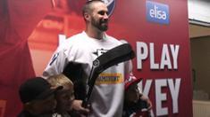 Video: Gillies: Tulin pelaamaan kovaa, rehellistä lätkää