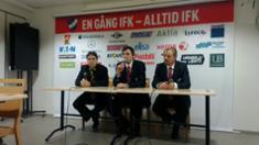 Video: Lehdistötilaisuus IFK - Kalpa 7.1.2012