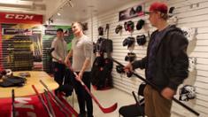 Video: IFK:n pelaajat vierailivat CCM:llä