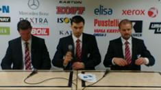 Video: Lehdistötilaisuus IFK - �ssät 1.11.2011