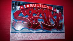 Video: Taiteiden yössä valmistettu IFK-graffitiseinä tuotiin Nordikselle