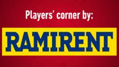 Video: Ramirent Players' Corner: Suoraan syötöstä laukominen