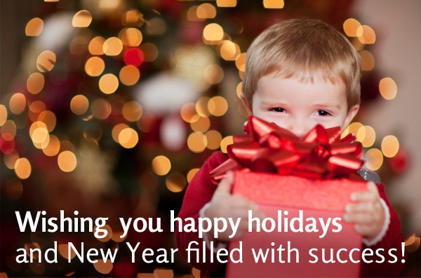 Image result for happy holidays and a prosperous new year